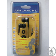 Навушники Avalanche MP3-231 Black
