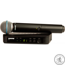 Shure BLX24EBeta58 система безпровідна вокальна з мікрофоном BETA58 (Q25).