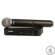 Shure BLX24ESM58 система безпровідна вокальна з мікрофоном SM58