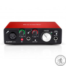 Аудіоінтерфейс FOCUSRITE Scarlett Solo NEW