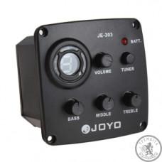 Еквалайзер 3 смуговий зі звукознімачем для гітари JOYO JE-303 (з тюнером)