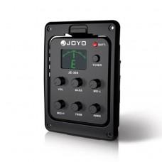Еквалайзер 5-ти смуговий зі звукознімачем для гітари JOYO JE-306 (з тюнером)