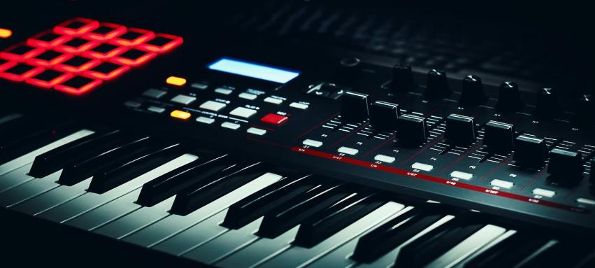 MIDI клавиатура черная